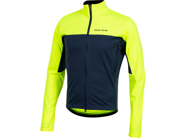 PEARL iZUMi Interval AmFIB Jacket Men screaming yellow/navy